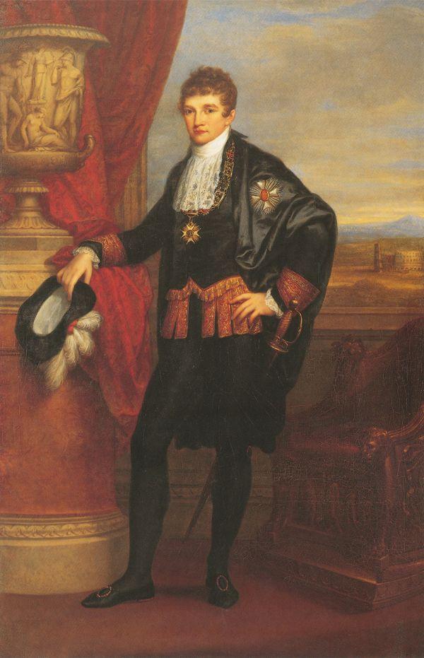 Bild Das Gemälde von Angelika Kauffmann von 1807 zeigt den Kronprinz Ludwig von Bayern.