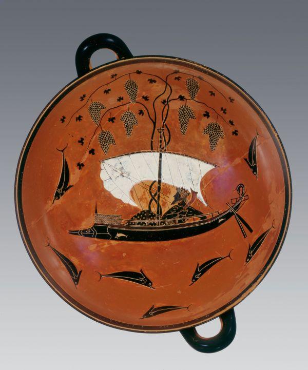 Bild Die Exekiasschale gehört zu den bedeutendsten Antiken der Welt. Aus Athen, 540/530 v. Chr.