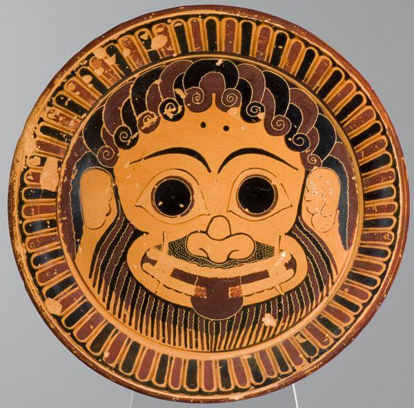Bild Das übelabwehrende Antlitz der Gorgo Medusa auf dem Lydosteller sollte alles Böse vertreiben. Aus Athen, 570/560 v. Chr.