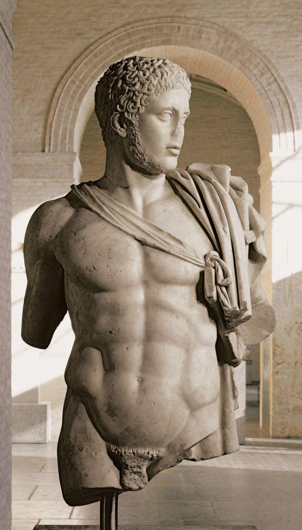 Bild Torso des Diomedes, römische Marmorkopie eines klassischen Originals aus der Zeit um 440 v. Chr.