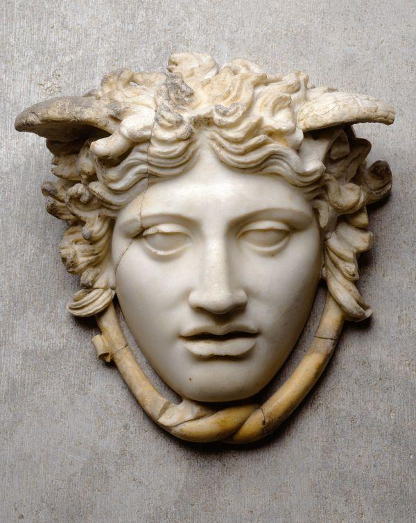 Bild Medusa Rondanini, römische Marmorkopie eines Originals um 440 v. Chr.