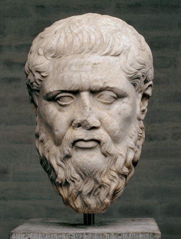 Bild Marmorbildnis des Philosophen Platon, Original um 350 v. Chr.