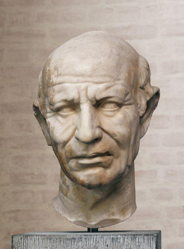 Bild Republikaner, römisches Marmorporträt, 70/60 v. Chr.