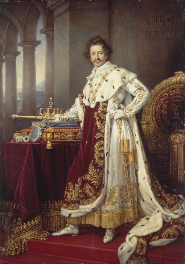Bild Ludwig I., der Stifter und Bauherr der Glyptothek