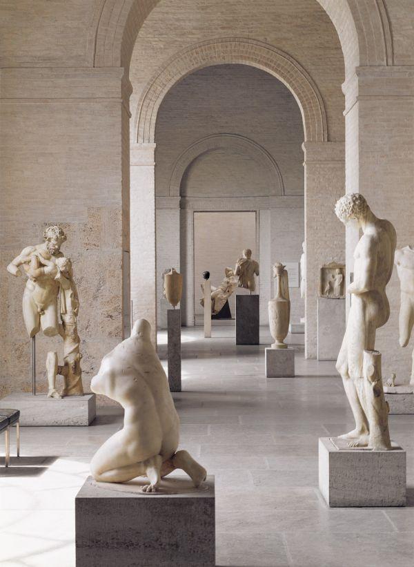 Bild Saal 5 der Glyptothek im Jahr 2005