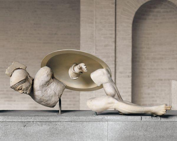 Bild Sterbender Trojaner vom Ostgiebel des Aphaiatempels von Aigina