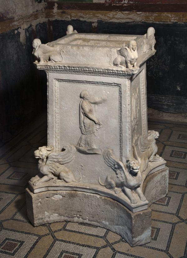 Bild Marmoraltar aus der Zeit des Augustus, 1. Jahrhundert n. Chr.