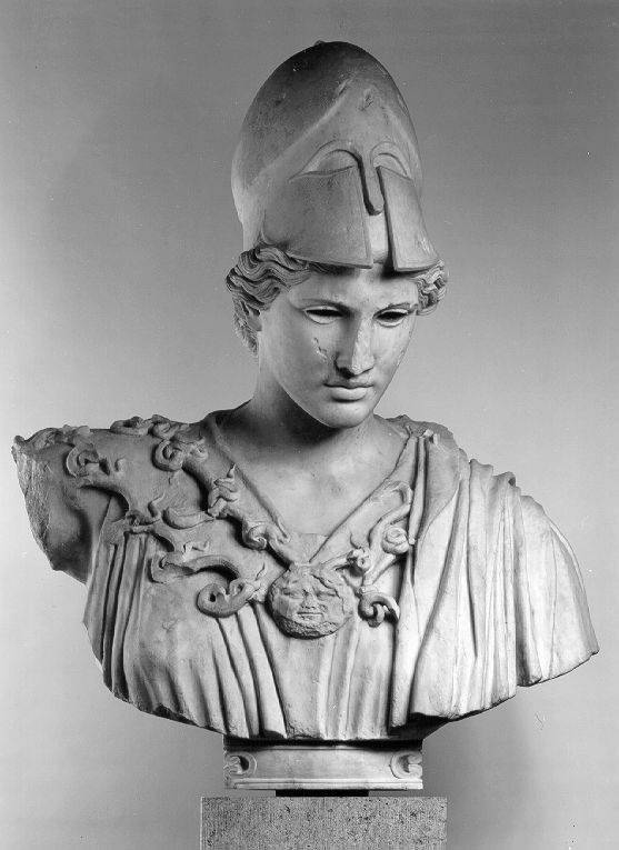 Büste der Athena Velletri